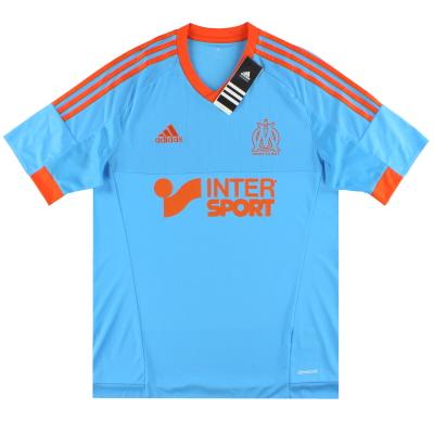 2014-15 Olympique Marseille adidas Fourth Shirt *BNIB*
