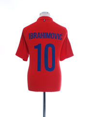 2014-15 Paris Saint-Germain CL Third Shirt Ibrahimovic #10 L