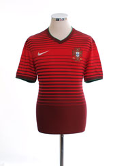 2014-15 Portugal Home Shirt *Mint* L