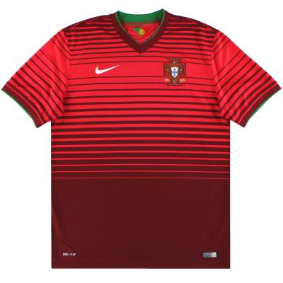 2014-15 Portugal Nike Home Shirt *Mint* L