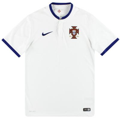 2014-15 Portugal Nike Away Shirt S