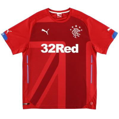 2014-15 Rangers Third Shirt *Mint* L