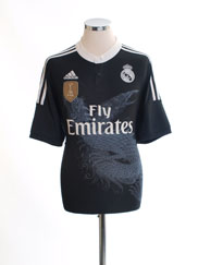 2014-15 Real Madrid Third Shirt *Mint* L