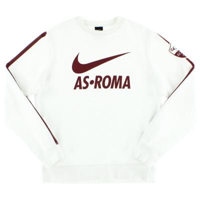 2014-15 Roma Nike Core Crew Sweatshirt *Mint* M
