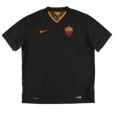 2014-15 Roma Third Shirt *Mint* XL