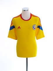 2014-15 Romania Home Shirt L