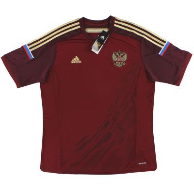 2014-15 Russia adidas Home Shirt Shirt  *BNIB* XL