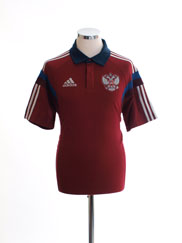 2014-15 Russia Polo Shirt M