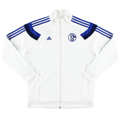 2014-15 Schalke adidas Training Jacket XL