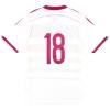 2014-15 Scotland adidas Player Issue adizero Away Shirt #18 *As New*