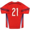 2014-15 Scotland adidas adizero Goalkeeper Shirt #21 *As New*