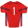 2014-15 Scotland adidas adizero Goalkeeper Shirt #1 *As New*