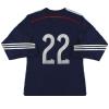 2014-15 Scotland adidas adizero Player Issue Home Shirt L/S #22 *As New* M