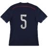 2014-15 Scotland adidas adizero Player Issue Home Shirt #5 *As New*