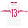 2014-15 Scotland adidas Player Issue adizero Away Shirt #13 L/S *As New*