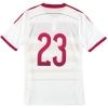 2014-15 Scotland adidas Player Issue adizero Away Shirt #23 *As New*
