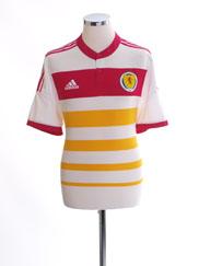 2014-15 Scotland Away Shirt *Mint* S