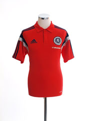 2014-15 Scotland adidas Polo Shirt M