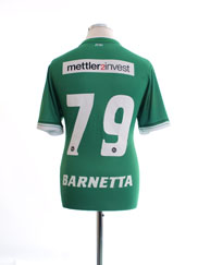 2014-15 St Gallen Home Shirt Barnetta #79 L