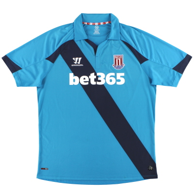 2014-15 Stoke City Warrior Away Shirt XL