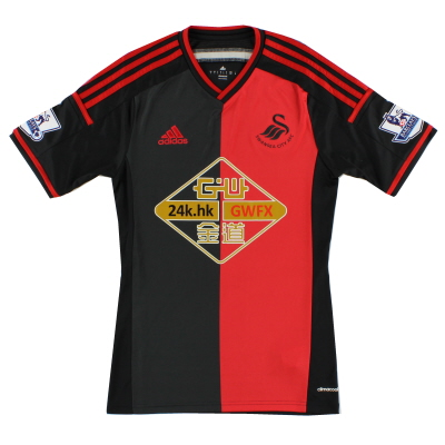 2014-15 Swansea adidas Away Shirt S