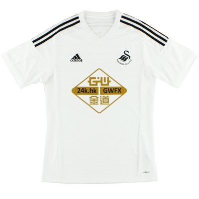 2014-15 Swansea Home Shirt L