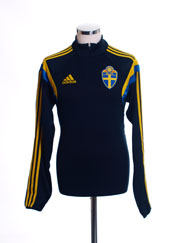 2014-15 Sweden adidas 1/2 Zip Training Top *BNIB*