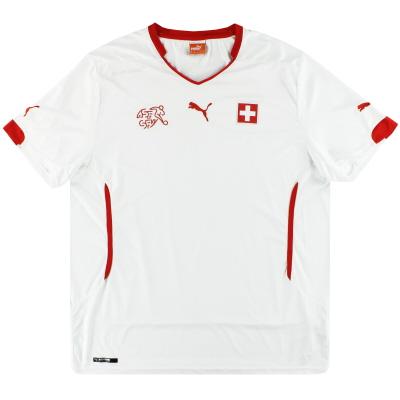 2014-15 Switzerland Puma Away Shirt XXL