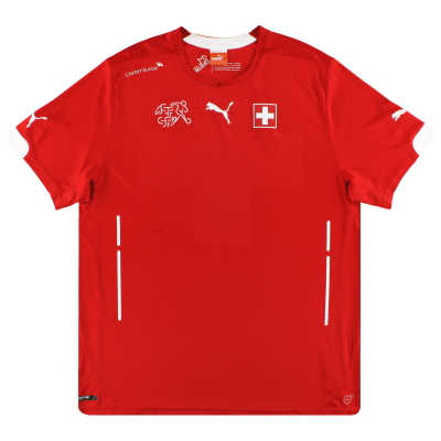 2014-15 Switzerland Puma Home Shirt XL