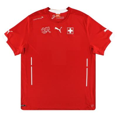 2014-15 Switzerland Puma Home Shirt *Mint* L