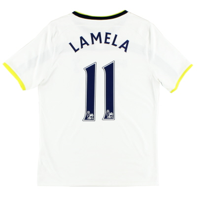 2014-15 Tottenham Home Shirt Lamela #11 XL.Boys