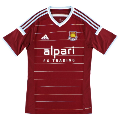 2014-15 West Ham Home Shirt *Mint* XL
