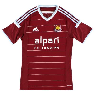 2014-15 West Ham adidas Home Shirt *Mint* S
