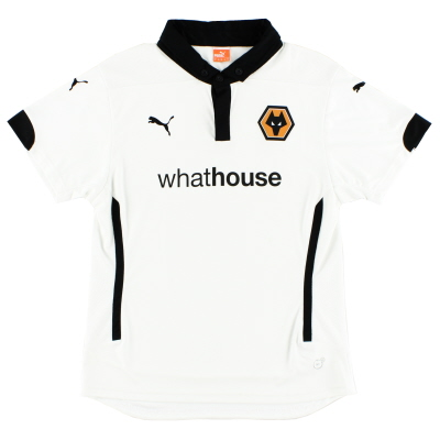 2014-15 Wolves Away Shirt Womens 10