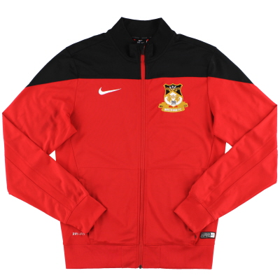 2014-15 Wrexham '150th Anniversary' Nike Track Jacket S