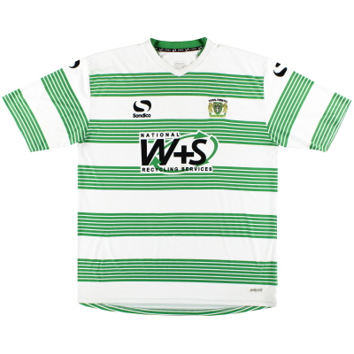 2014-15 Yeovil Town Home Shirt XL