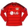 2014-16 Bayer Leverkusen European Shirt Mehmedi #14 M