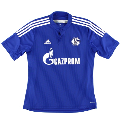 2014-16 Schalke Home Shirt *Mint* L