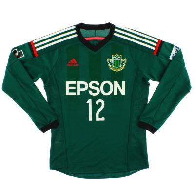 2014 Matsumoto Yamaga Match Issue Home Shirt #12 L/S S