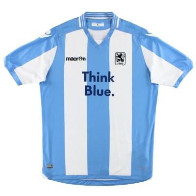 2015-16 1860 Munich Macron Authentic Home Shirt XL