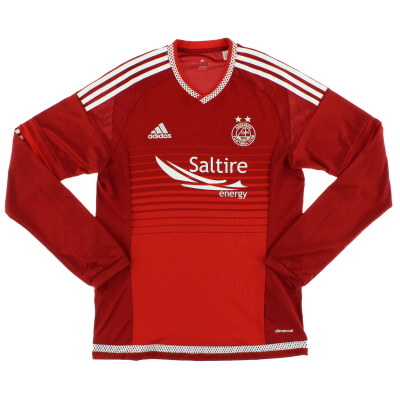 2015-16 Aberdeen Home Shirt L/S S