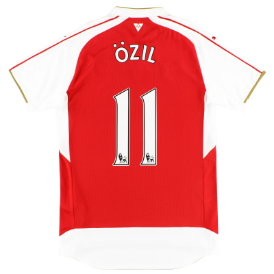 2015-16 Arsenal Home Shirt Ozil #11 *Mint* S