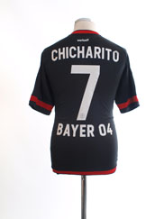 2015-16 Bayer Leverkusen Home Shirt Chicharito #7 M