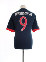 2015-16 Bayern Munich CL Third Shirt Lewandowski #9 L