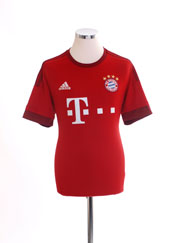 2015-16 Bayern Munich Home Shirt *Mint* XL