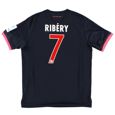 2015-16 Bayern Munich Third Shirt Ribery #7 *Mint* L