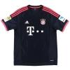 2015-16 Bayern Munich Third Shirt Ribery #7 *Mint* L
