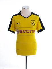 2015-16 Borussia Dortmund Home Shirt M