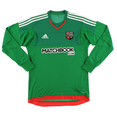 2015-16 Brentford adizero Goalkeeper Shirt M