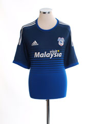 2015-16 Cardiff City Adizero Home Shirt XXL